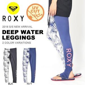 ゆうパケット対応可能! ロキシー ROXY ラッシュトレンカ DEEP WATER LEGGINGS レディース レギンス UVカット 紫外線対策 海水浴 サーフ 2018春夏新作 30%off|elephant
