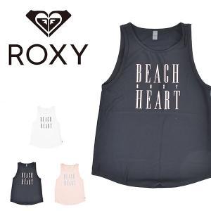 タンクトップ ロキシー ROXY レディース BEACH  ROXY HEART タンク 速乾 ノースリーブ トップス ビーチ リゾート サーフ 2019春夏新作 10%off elephant