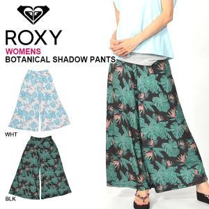 バギー パンツ ROXY ロキシー レディース BOTANICAL SHADOW PANTS バギー パンツ パンツ ウェア フィットネス サーフ ヨガ ジム 2019春夏新作 10%off|elephant