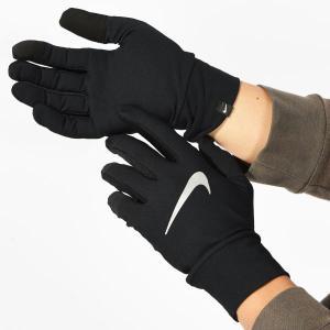 ランニンググローブ ナイキ NIKE メンズ ライトウエイト テック ランニング グローブ 手袋 スマホ手袋 タッチパネル対応 RN1034 2018冬新作 得割20
