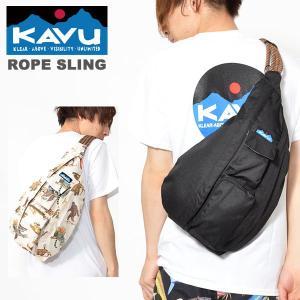 KAVU カブー ROPE SLING ロープスリング ワンショルダー バッグ  アウトドア ショルダーバッグ ボディバッグ 2019春夏新色 送料無料 得割14|elephant
