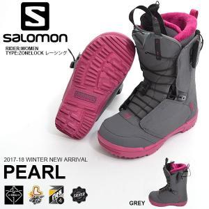 SALOMON サロモン スノーボード ブーツ クイックレース システム PEARL パール レディ...