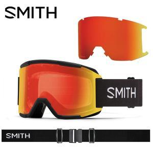 ゴーグル SMITH スミス SQUAD スカッド クロマポップ 調光 レンズ スノボ スノーボード...
