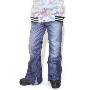 スノーボードウェア パンツ メンズ レディース デニム プリント 立体縫製 スノボ  SNOWBOARD スノボパンツ スノーパンツ|elephant