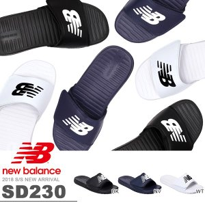 サンダル new balance ニューバランス SD230 メンズ レディース スポーツサンダル シャワーサンダル プール 海水浴 ジム 2018新作 得割26|elephant