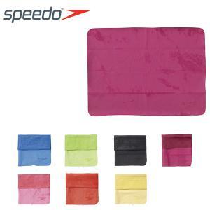 スポーツタオル speedo スピード セームタオル 小 43×32cm メンズ レディース スイミング 水泳 プール ジム スイムタオル SD96T02 得割20|elephant