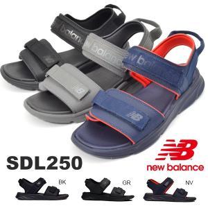 サンダル new balance ニューバランス SDL250 メンズ スポーツサンダル プール 海水浴 ジム アウトドア キャンプ 2019春夏新作 得割10|elephant
