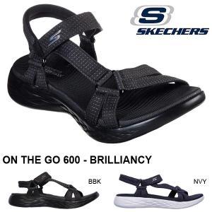 スポーツサンダル スケッチャーズ SKECHERS レディース ON THE GO 600 オンザゴー サンダル ストラップ フラット シューズ 靴 15316 2019春夏新作 得割20 elephant