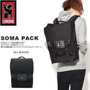 バックパック クローム CHROME メンズ 25L SOMA PACK ソーマ ブラック リュックサック デイパック|elephant
