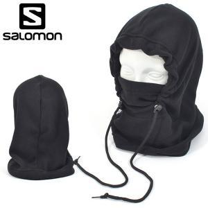 フードウォーマー SALOMON サロモン STORM HOOD WARMER FLEECE フェイスマスク バラクラバ 防寒 スノボ スノーボード スキー 20%off|elephant