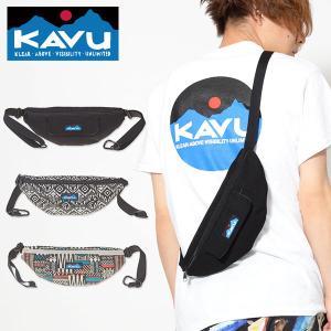 KAVU カブー Stroll Around ストロールアラウンド  ウエストバッグ ボディバッグ ウエストポーチ アウトドア 2019春夏新色|elephant