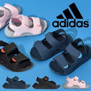 アディダス ベビー サンダル adidas キッズ ジュニア 子供 SWIM SANDAL I シューズ 子供靴 ベルクロ 2021夏新作 FY6040 FY8064 FY8065|エレファントSPORTS PayPayモール店