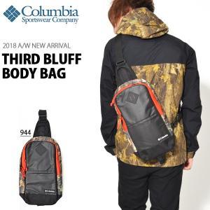 ボディバッグ コロンビア Columbia メンズ レディース Third Bluff Body Bag 5L ワンショルダーバッグ PU8227 2018秋冬新作 10%OFF|elephant