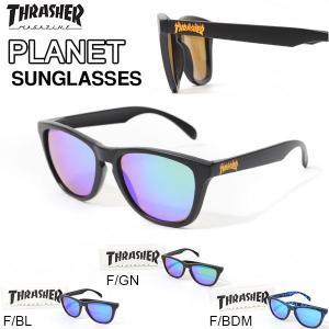 サングラス THRASHER スラッシャー PLANET FLAME フレイム アイウェア カラフル カラーレンズ メンズ レディース|elephant