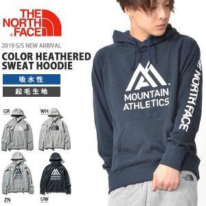 スウェット パーカー THE NORTH FACE ザ・ノースフェイス カラーヘザード スウェット フーディー メンズ プルオーバー 2019春夏新色 ロゴ NT61795|elephant