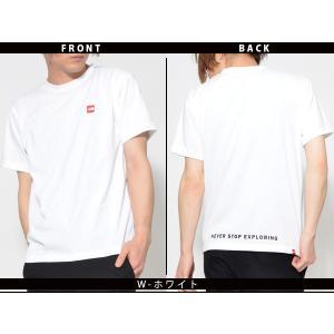スクエア ロゴ 半袖Tシャツ THE NORTH FACE ザ・ノースフェイス メンズ 赤ロゴ ショートスリーブスモールボックスロゴティー 2019春夏新作 nt31955 速乾|elephant|04