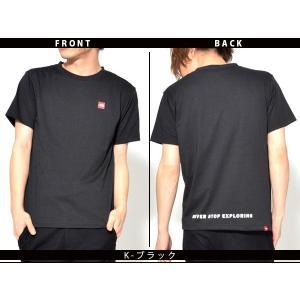 スクエア ロゴ 半袖Tシャツ THE NORTH FACE ザ・ノースフェイス メンズ 赤ロゴ ショートスリーブスモールボックスロゴティー 2019春夏新作 nt31955 速乾|elephant|05