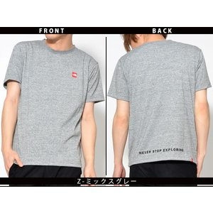 スクエア ロゴ 半袖Tシャツ THE NORTH FACE ザ・ノースフェイス メンズ 赤ロゴ ショートスリーブスモールボックスロゴティー 2019春夏新作 nt31955 速乾|elephant|06
