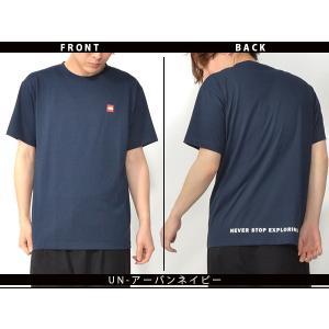 スクエア ロゴ 半袖Tシャツ THE NORTH FACE ザ・ノースフェイス メンズ 赤ロゴ ショートスリーブスモールボックスロゴティー 2019春夏新作 nt31955 速乾|elephant|07