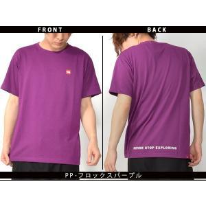 スクエア ロゴ 半袖Tシャツ THE NORTH FACE ザ・ノースフェイス メンズ 赤ロゴ ショートスリーブスモールボックスロゴティー 2019春夏新作 nt31955 速乾|elephant|08