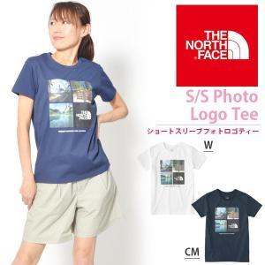 半袖Tシャツ THE NORTH FACE ザ・ノースフェイス レディース S/S Photo Logo Tee ショートスリーブフォトロゴティー 2018春夏新作 ntw31851 速乾|elephant