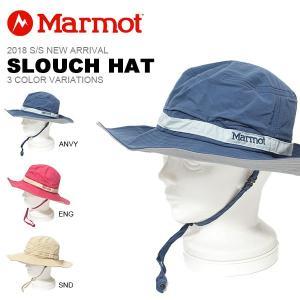 マーモット Marmot Slouch Hat スローチハット  メンズ レディース 帽子 ぼうし アウトドア トレッキング 登山 キャンプ 紫外線対策 2018春夏新作|elephant