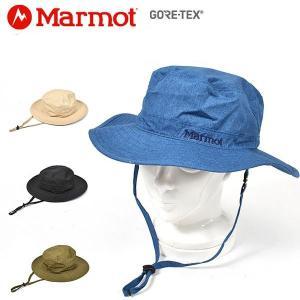 Marmot マーモット GORE-TEX  ゴアテックス ウォッシュドライナー ハット メンズ  ...