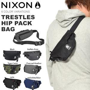 ウエストバッグ NIXON ニクソン TRESTLES HIP PACK BAG 1L ボディバッグ ウエスト ポーチ スリングパック ヒップバッグ BAG かばん 鞄 カバン 送料無料|elephant
