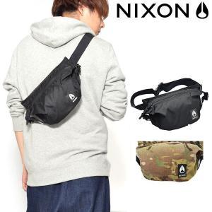 ウエストバッグ NIXON ニクソン TRESTLES HIP PACK BAG 3L ボディバッグ ウエスト ポーチ スリングパック ヒップバッグ BAG かばん 鞄 カバン 送料無料|elephant