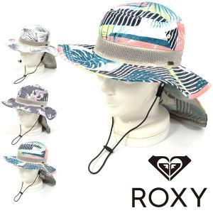 サファリハット ROXY ロキシー キッズ ジュニア 子供 ストラップ付き あご紐 帽子 サーフ アウトドア 通学 水あそび 熱中症対策 2019春夏新作 10%off|elephant