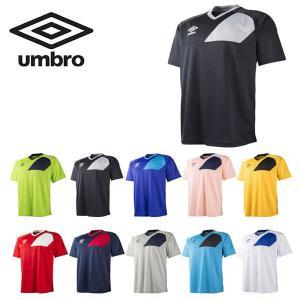半袖 Tシャツ アンブロ UMBRO ディヴィジョン セカンダリー S/S シャツ メンズ 半袖 サッカー フットボール フットサル トレーニング 得割20|elephant