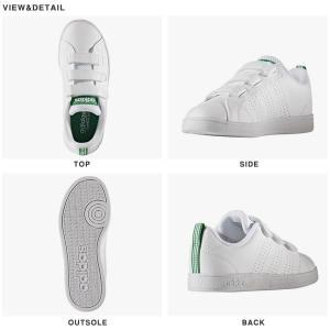 40%OFF キッズ スニーカー アディダス adidas VALCLEAN2 CMF K ジュニア 子供 バルクリーン2 ベルクロ シューズ 靴 ホワイト elephant 02
