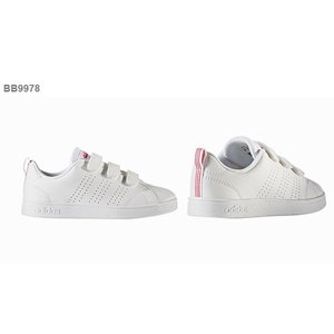 40%OFF キッズ スニーカー アディダス adidas VALCLEAN2 CMF K ジュニア 子供 バルクリーン2 ベルクロ シューズ 靴 ホワイト elephant 04