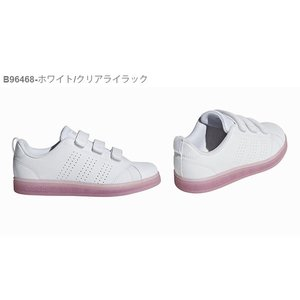40%OFF キッズ スニーカー アディダス adidas VALCLEAN2 CMF K ジュニア 子供 バルクリーン2 ベルクロ シューズ 靴 ホワイト elephant 05