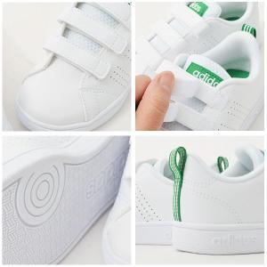 40%OFF キッズ スニーカー アディダス adidas VALCLEAN2 CMF K ジュニア 子供 バルクリーン2 ベルクロ シューズ 靴 ホワイト elephant 06
