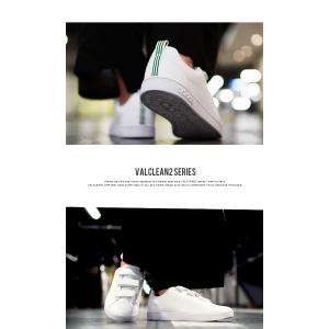 期間限定 送料無料 スニーカー アディダス adidas VALCLEAN2 CMF メンズ ローカット レディース バルクリーン2 ベルクロ シューズ 靴 AW5210 ホワイト 定番|elephant|05