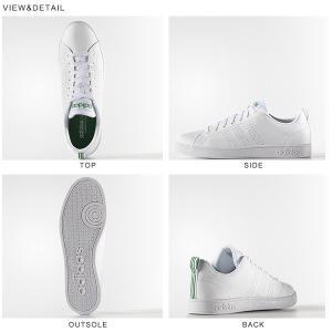 アディダス スニーカー adidas VALCLEAN2 バルクリーン メンズ ローカット スニーカー レディース 26%off シューズ ホワイト 白 緑 紺 F99251 定番 送料無料|elephant|04