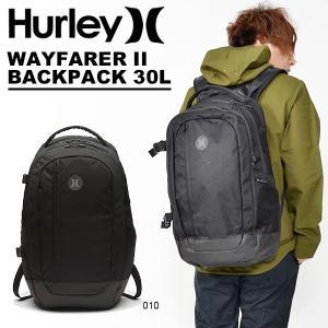 リュックサック バックパック HURLEY ハーレー WAYFARER II BACKPACK 30L 防水 サーフ サーフィン ボディボード 2018秋冬新作 BAG バッグ|elephant