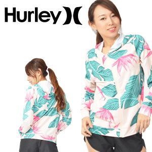 Hurley(ハーレー)HOODED HANOI RASHGUARD LS 婦人・女性用  パフォー...