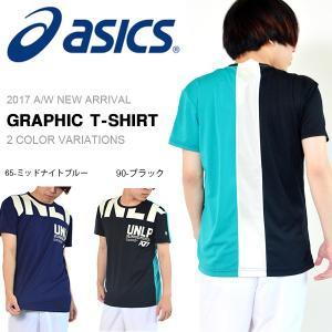 半袖 アシックス asics A77 グラフィックTシャツ ...