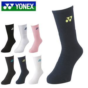 ソックス ヨネックス YONEX メンズ クルーソックス 25-28cm 靴下 スポーツソックス テ...