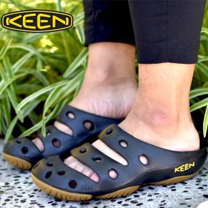 クロッグサンダル キーン KEEN メンズ YOGUI ヨギ ヨギー 軽量 コンフォートサンダル アウトドア 靴 シューズ サボサンダル 1017079 2018新色|elephant