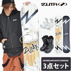 ZUMA ツマ スノーボード メンズ 3点セット 板 ボード バインディング ブーツ JOKER white 150 158 スノボ キャンバー 2018-2019冬新作 送料無料|elephant