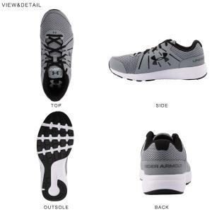 ランニングシューズ アンダーアーマー UNDER ARMOUR UA DASH RN 2 4E SYN メンズ ワイド 幅広 ジョギング マラソン シューズ 靴 2017春夏新作 送料無料|elephantsports|03