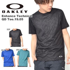 OAKLEY(オークリー)Enhance Technical QD Tee.19.05 457850...