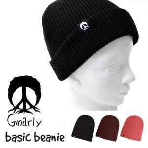 ビーニー 帽子 CAP ナーリー GNARLY BASIC ...