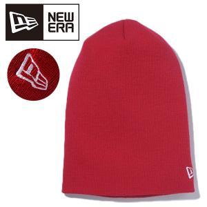 ネコポス対応可能!ニット帽 ニューエラ NEW ERA BASIC LONG KNIT ビーニー メンズ レディース ロゴ 帽子 ベーシック スノボ スノーボード