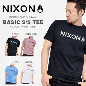 ネコポス対応可能! 半袖Tシャツ NIXON ニクソン メンズ ロゴTシャツ BASIS S/S TEE 2017春夏新作 得割25 elephantsports
