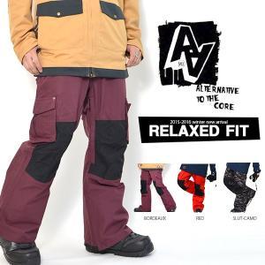 スノーボードウェア パンツ AA HARDWEAR ダブルエー ハードウェア DIRT PANTS メンズ パンツ RELAXED FIT ボトムス 30%off|elephantsports