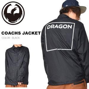 コーチジャケット DRAGON ドラゴン COACHS JACKET ナイロンジャケット ジャケット アウター スノボ スノーボード 2018-2019冬新作 20%off|elephantsports